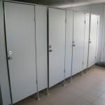 туалетные перегородки на вокзале