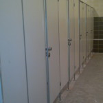система сантехнических кабин в ледовом дворце
