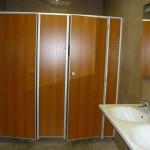 туалетные перегородки для кафе