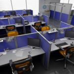 разделение офисного пространства