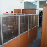 офисные перегородки с раздельным заполнением