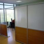 офисные перегородки с раздельным заполнением высота 2200см ФОТО 2
