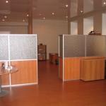 разделение офисного пространства перегородками