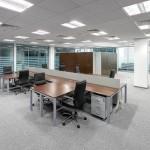 Алюминиевые перегородки в Минскеa офис