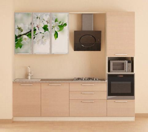 Линейная кухня №3