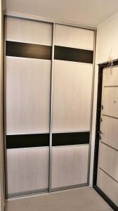 37.Шкаф-купе 1,4м senator открытый, цвет - серебро. Двери комбинированные ДСП. Цена 6500000 руб