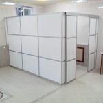 Офисная перегородка standart с раздвижной дверью