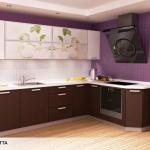 Фабричные кухни AYRO вариант 6