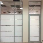 Алюминиевые перегородки в офис 2