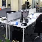 Настольные экраны в офис