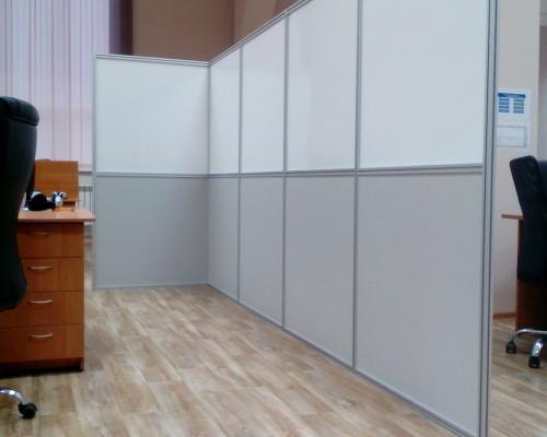 Мобильная офисная перегородка vstandart