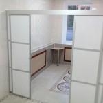 Мобильные перегородки с раздвижными дверями для санатория