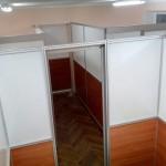 перегородки в кабинет для санатория