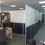 Мобильные перегородки в офис для ООО Кортлекс