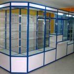 Торговые витрины стекло и ЛДСП
