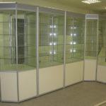 Торговые витрины стекло