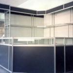 Торговые витрины алюминий и ЛДСП