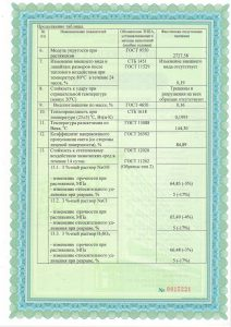Сертификат поликарбонат 4