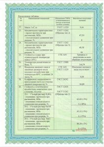 Сертификат поликарбонат 6